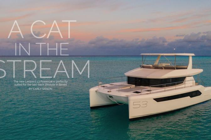 Leopard 53 PC Review in Soundings