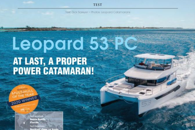 Loepard 53 Powercat review